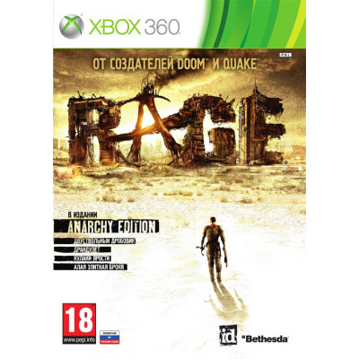 RAGE. Anarchy Edition [Xbox 360, русская версия]