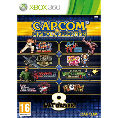 Capcom Digital Collection [Xbox 360, английская версия]