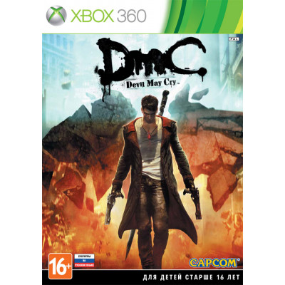 DmC: Devil May Cry [Xbox 360, русские субтитры]