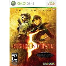 Resident Evil 5. Gold Edition (с поддержкой PS Move) [Xbox 360, английская версия]