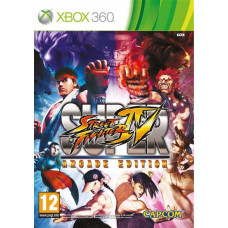Super Street Fighter IV Arcade Edition [Xbox 360, английская версия]