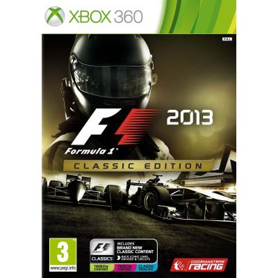 Formula 1 2013. Classic Edition [Xbox 360, русская версия]