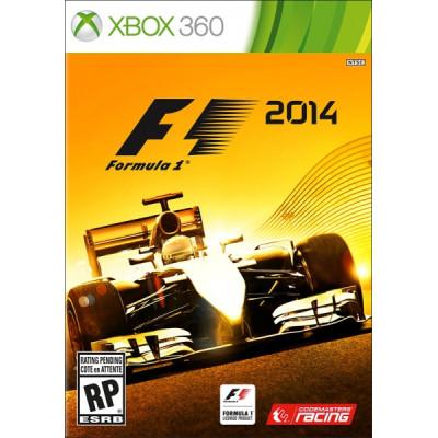 Formula 1 2014 [Xbox 360, русская документация]