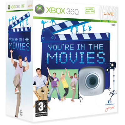 You're in the Movies (игра + видеокамера) [Xbox 360, русская документация]