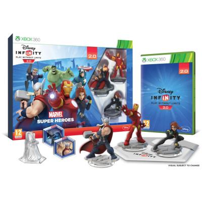 Disney: Infinity 2:0 (Marvel) - Стартовый набор [Xbox 360, русская версия]