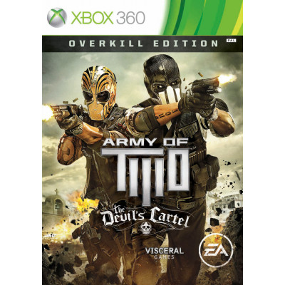 Army of Two: The Devil's Cartel. Overkill Edition [Xbox 360, английская версия]