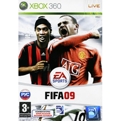 FIFA 09 [Xbox 360, русская версия]