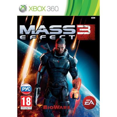 Mass Effect 3 [Xbox 360, русские субтитры]