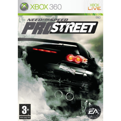 Need for Speed ProStreet  [Xbox 360, русская версия]