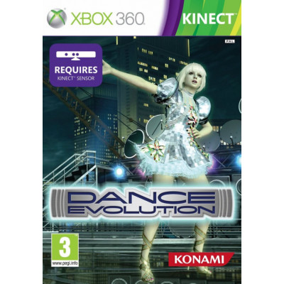 Dance Evolution (только для MS Kinect) [Xbox 360, английская версия]