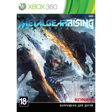 Metal Gear Rising: Revengeance [Xbox 360, русская документация]