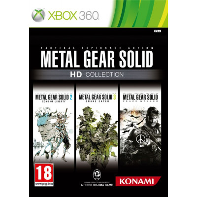Metal Gear Solid HD Collection [Xbox 360, английская версия]