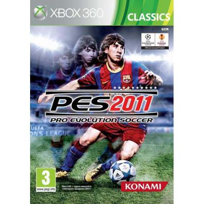 Pro Evolution Soccer 2011 (Classics) [Xbox 360, русские субтитры]