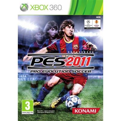 Pro Evolution Soccer 2011 [Xbox 360, русские субтитры]