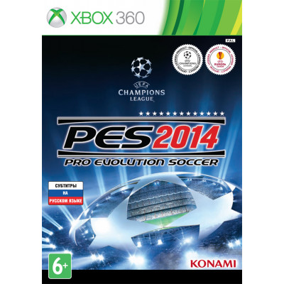 Pro Evolution Soccer 2014 [Xbox 360, русские субтитры]