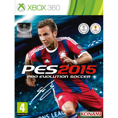 Pro Evolution Soccer 2015 [Xbox 360, русские субтитры]