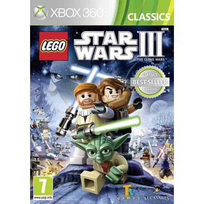 LEGO Star Wars III: the Clone Wars (Classics) [Xbox 360, русская документация]