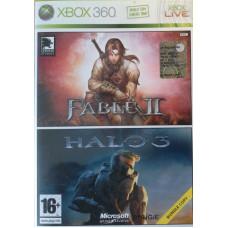 Комплект:Fable2 + Halo3 [Xbox 360, английская версия]