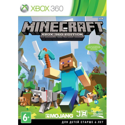Minecraft [Xbox 360, русская документация]