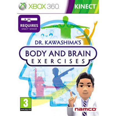 Dr Kawashima's Body and Brain Exercises (только для Kinect) [Xbox 360, английская версия]