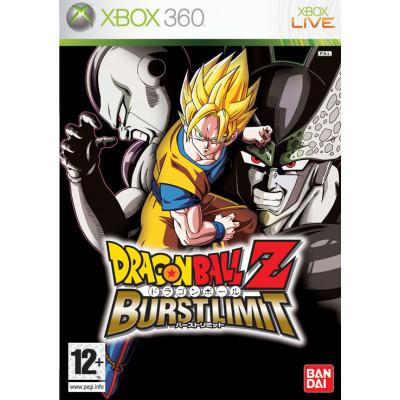 Dragon Ball Z: Burst Limit [Xbox 360, английская версия]