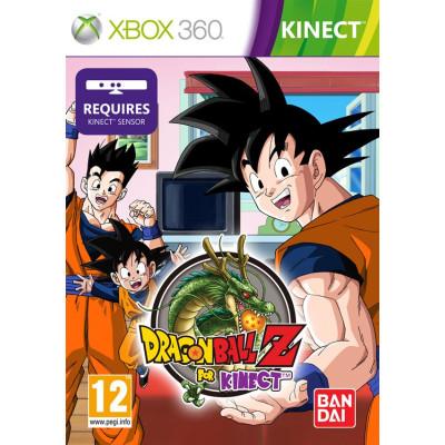Dragon Ball Z for Kinect (только для MS Kinect) [Xbox 360, английская версия]