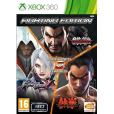 Fighting Edition (Tekken 6+Soul Calibur 5+Tekken Tag Tournament 2) [Xbox 360, русские субтитры]