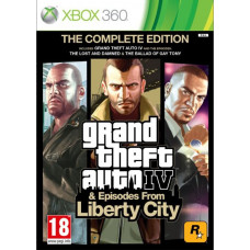 Grand Theft Auto Episodes from Liberty City [Xbox 360, русская документация]