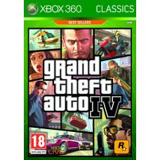Grand Theft Auto IV (Classics) [Xbox 360, русская документация]