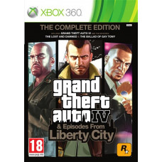 Grand Theft Auto Episodes from Liberty City (Classics) [Xbox 360, русские субтитры]