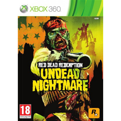 Red Dead Redemption: Undead Nightmare [Xbox 360, английская версия]