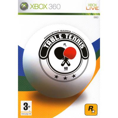 Rockstar Table Tennis [Xbox 360, английская версия]