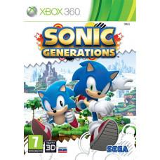 Sonic Generations (с поддержкой 3D) [Xbox 360, русская документация]