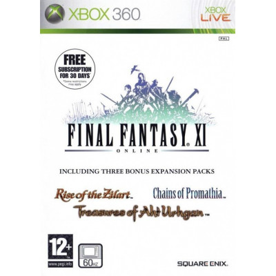 Final Fantasy XI Online (Bonus - 3 Expantion packs) [Xbox 360, английская версия]