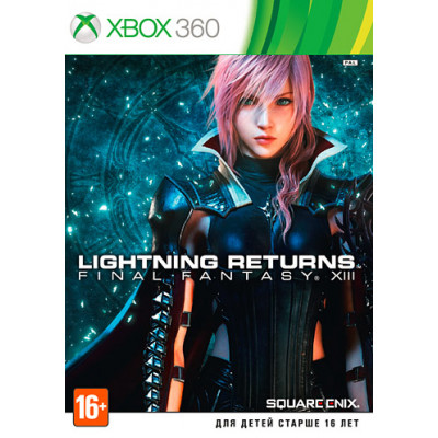 Lightning Returns: Final Fantasy XIII [Xbox 360, русская документация]