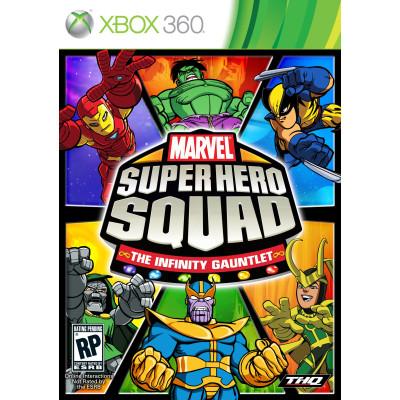 Marvel Super Hero Squad: the Infinity Gauntlet [Xbox 360, английская версия]
