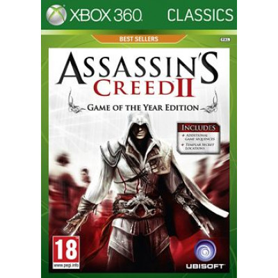 Assassin's Creed II. Game of the Year Edition (Classics) [Xbox 360, русская версия]