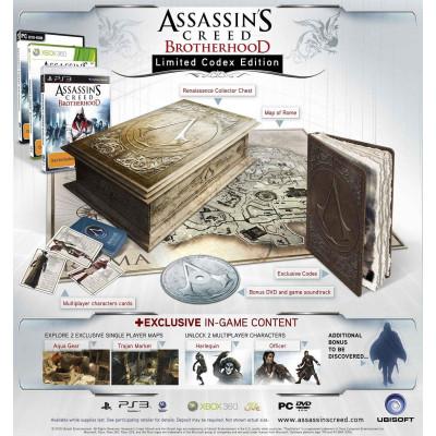 Assassin's Creed: Братство Крови. Limited Codex Edition [Xbox 360, русская версия]