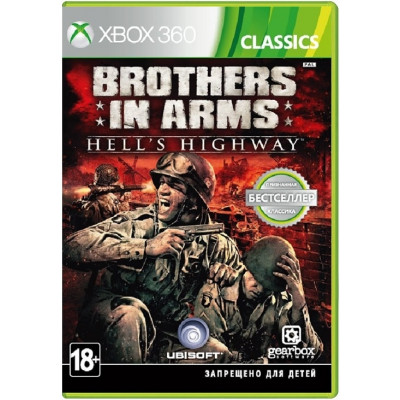 Brothers in Arms: Hell's Highway (Classics) [Xbox 360, русская документация]