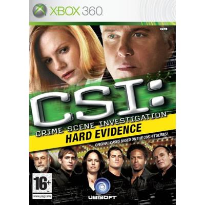 CSI: Hard Evidence [Xbox 360, английская версия]