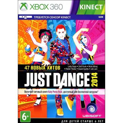 Just Dance 2014 (только для MS Kinect) [Xbox 360, русская документация]