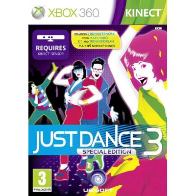 Just Dance 3. Special Edition (только для MS Kinect) [Xbox 360, английская версия]