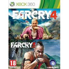 Комплект «Far Cry 3» + «Far Cry 4» [Xbox 360, русская версия]