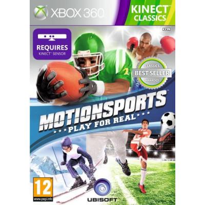 MotionSports: Play for Real (только для MS Kinect) (Classics) [Xbox 360, английская версия]