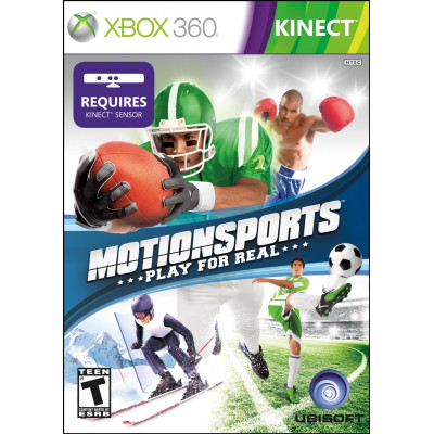 MotionSports: Play for Real (только для MS Kinect) [Xbox 360, английская версия]