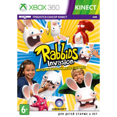 Rabbids Invasion (только для MS Kinect) [Xbox 360, русская версия]