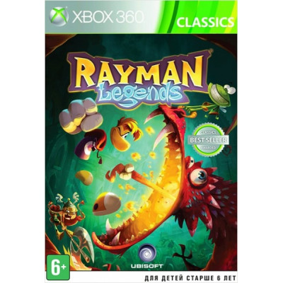 Rayman Legends (Classics) [Xbox 360, русская версия]