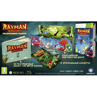 Rayman Origins. Коллекционное издание  [Xbox 360, русская версия]