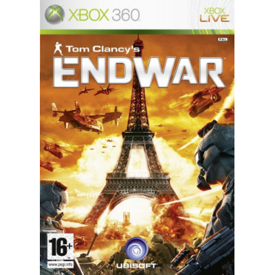 Tom Clancy's EndWar [Xbox 360, русская версия]