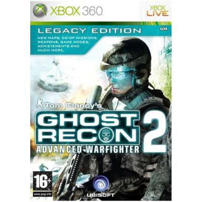Tom Clancy's Ghost Recon: Advanced Warfighter 2. Legacy Edition [Xbox 360, английская версия]
